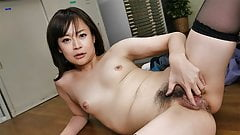 Japanese office gal, Asuka Kyono had sex, uncensored
